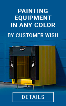 Painting of equipment in any color according to the customer's request
